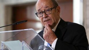 وزير الشؤون الخارجية الفرنسي جان إيف لو دريان