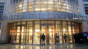 """المحكمة الفيدرالية في بروكلين حيث تجري محاكمة """"إل تشابو"""""""