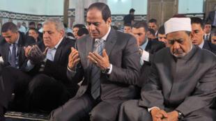 الرئيس المصري عبد الفتاح السيسي في القاهرة