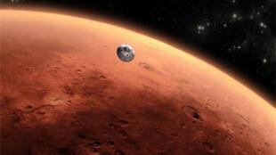 صورة لكوكب المريخ