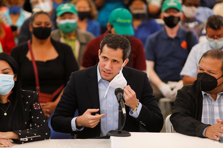 خوان غوايدو زعيم المعارضة الفنزويلية