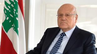 نجيب ميقاتي رئيس الوزراء السابق في لبنان