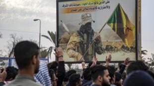 مناصرون لحزب الله العراقي في البصرة