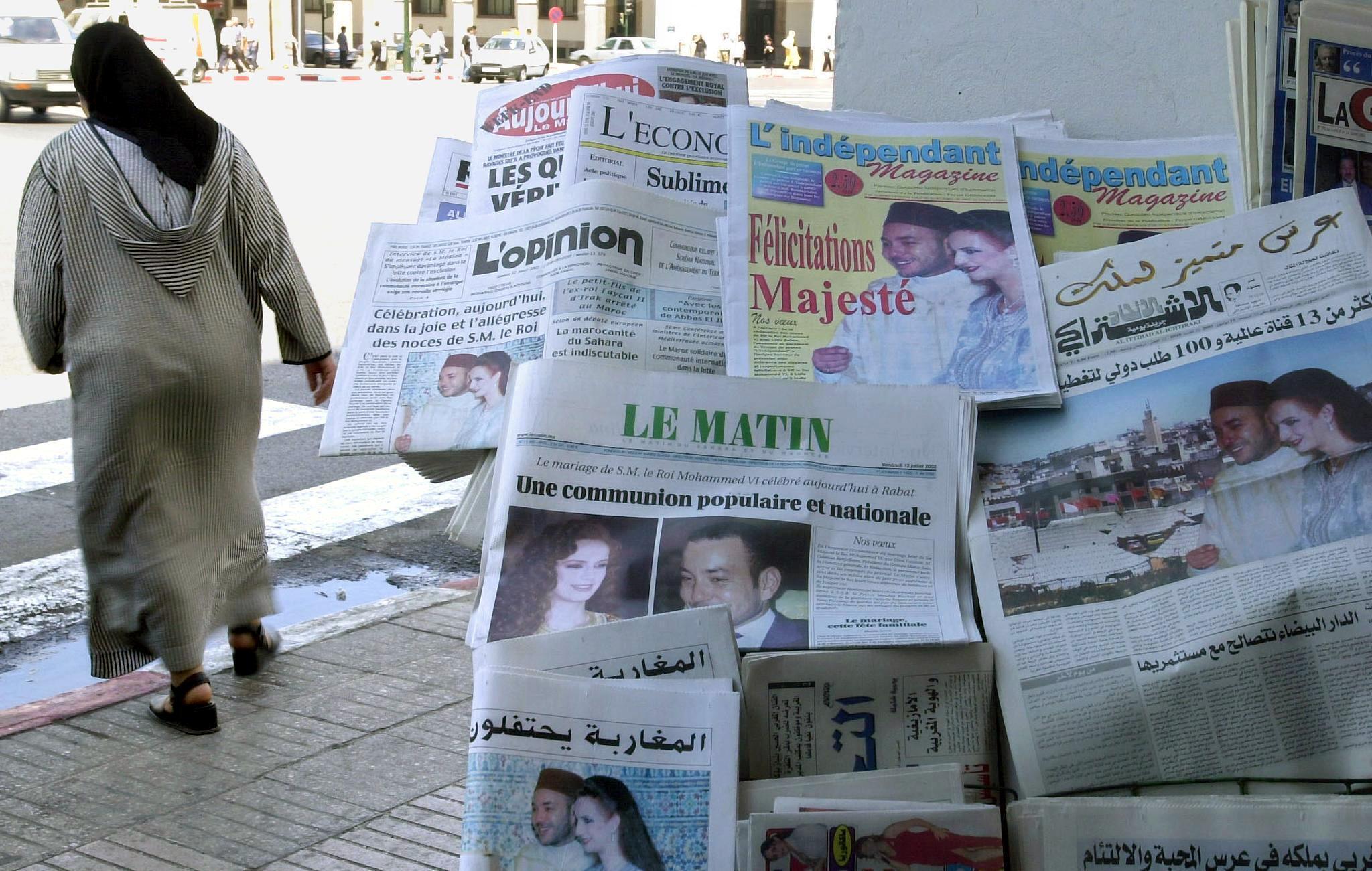 journeaux marocains