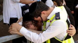 يوم حداد في إسرائيل على ضحايا التدافع في الاحتفال الديني