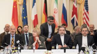 لجنة متابعة الاتفاق النووي الإيراني، فيينا، النمسا (25-04-2017)