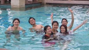 حوض السباحة