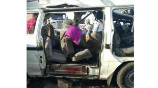 حادث سير في بور سعيد ( صورة توضيحية)