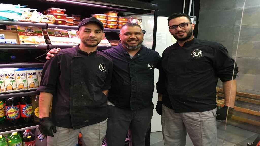 فريق العمل بشركة شيماء للحوم