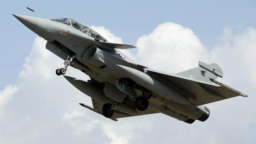 مقاتلة رافال تابعة لسلاح الجو الفرنسي