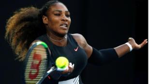 لاعبة كرة المضرب الأمريكية سيرينا وليامس