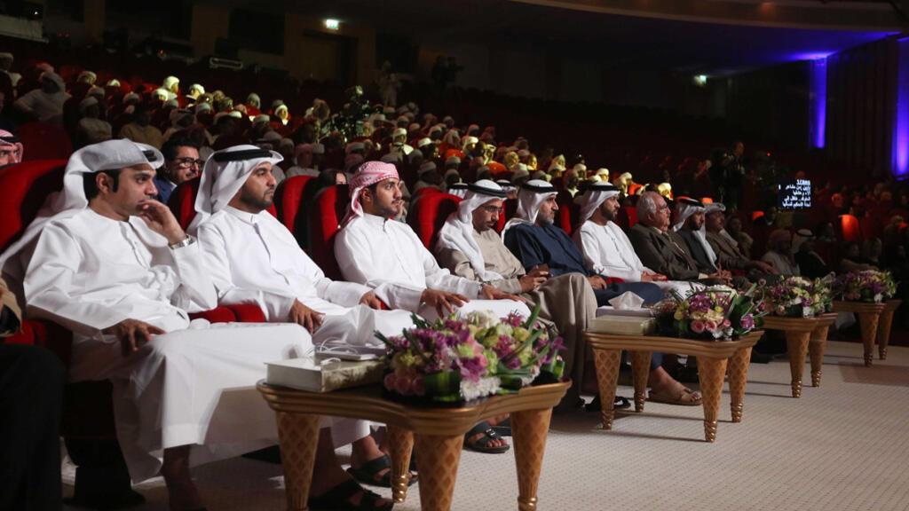 جانب من الحضور في مسابقة أمير الشعراء (مونت كارلو الدولية/ سعد المسعودي)