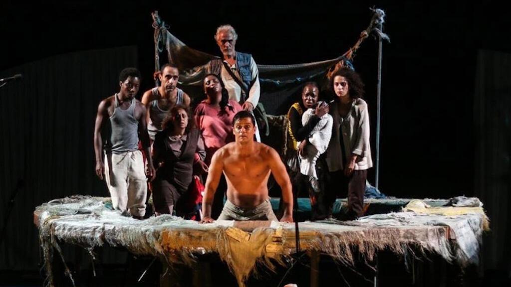 صورة من مسرحية الشقف