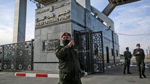 rafah crossing point