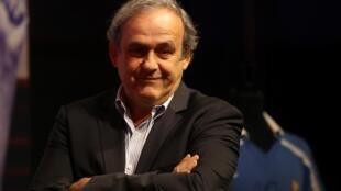 ميشال بلاتيني رئيس الاتحاد الأوروبي كرة القدم السابق (ويفا)