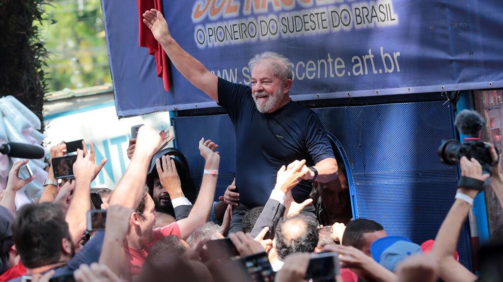 لويس ايناسيو لولا دا سيلفا، الرئيس البرازيلي السابق