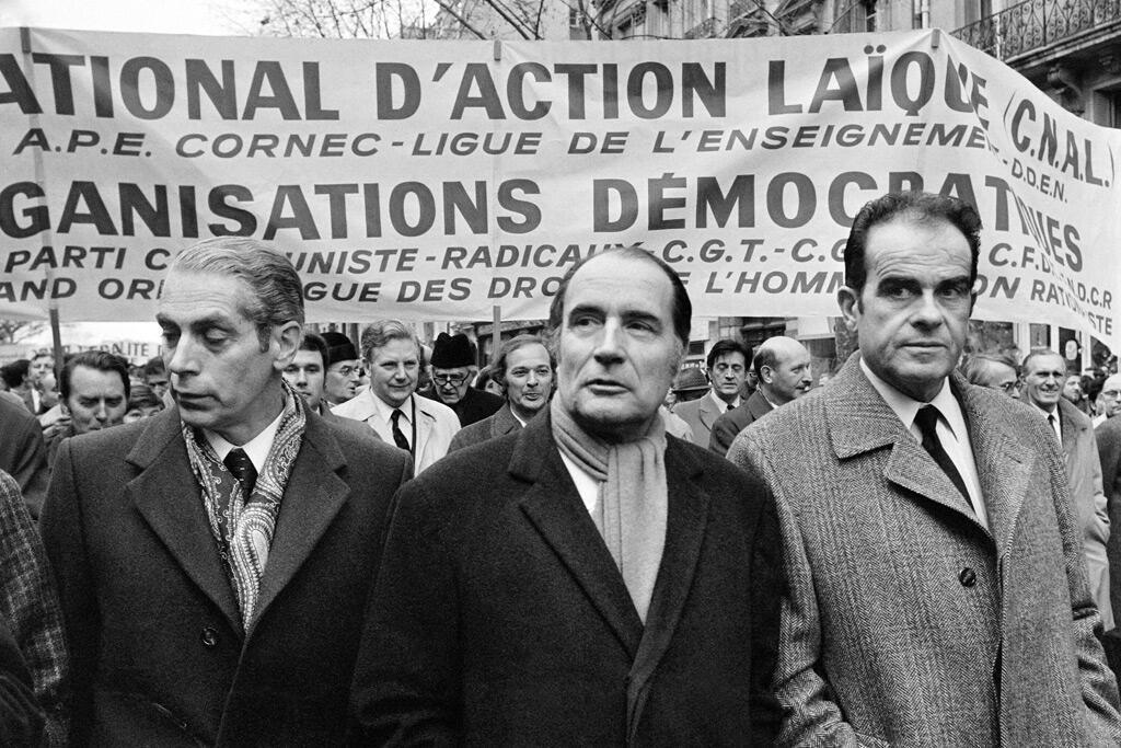 مارشيه وميتران وفابر، التحالف الثلاثي الذي أنتج البرنامج الاشتراكي الموحد لعام 1972