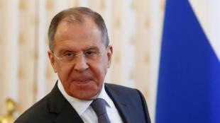 سيرغي فيكتوروفيتش لافروف، وزير الخارجية الروسي