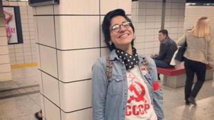 الناشطة المصرية سارة حجازي