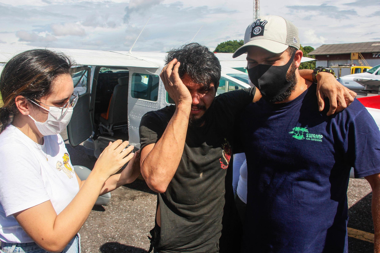 رحلة برازيلي صمد وحيدا 38 يوما في أدغال الأمازون بعد سقوط طائرته
