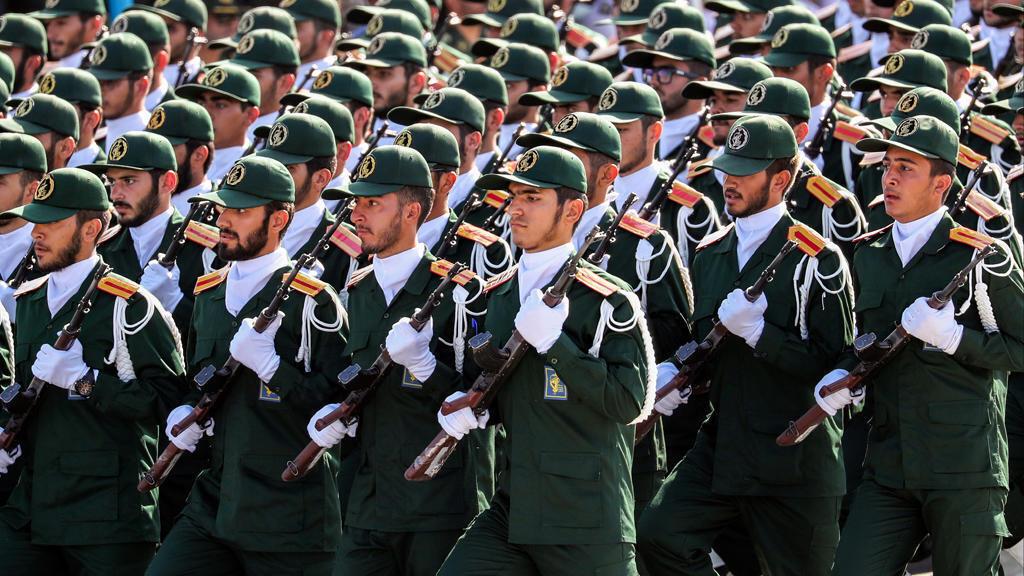 iranian revolution guards