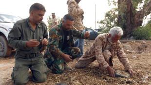 mines Libye