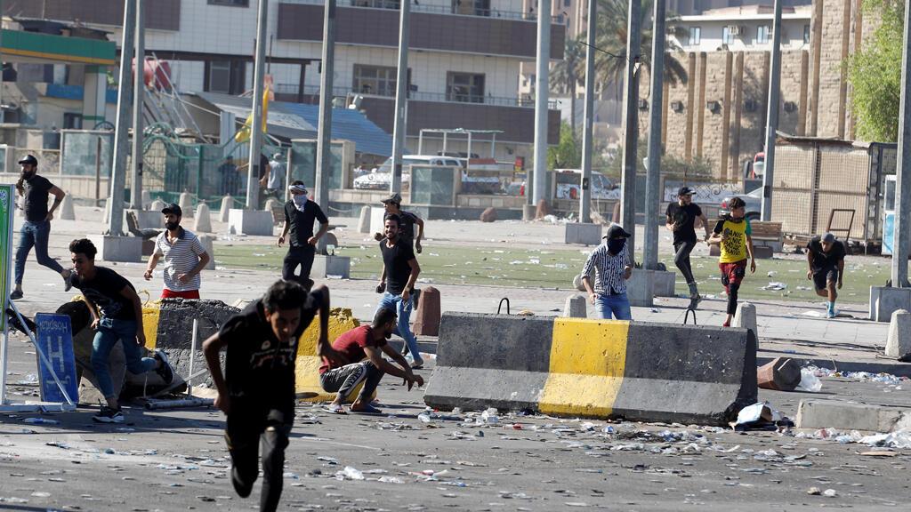 المواجهات مع القوى الأمنية في العراق