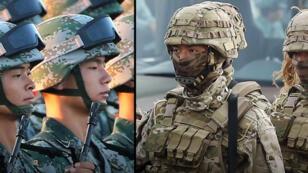 الجيش الصيني في مواجهة جيش تايوان