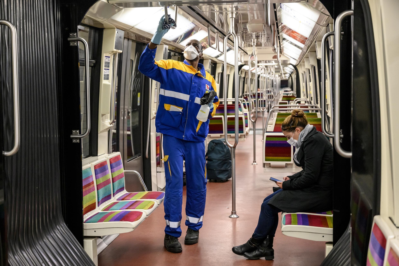 metro paris 07 05 2020