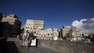 حي صنعاء القديم في اليمن 08-03-2016