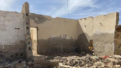كثير من منازل نواكشوط هددها تحالف المياه الجوفية المالحة ومياه الأمطار الموسمية ومياه المحيط الأطلسي