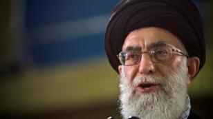 المرشد الاعلى للجمهورية الاسلامية الايرانية آية الله علي خامئني