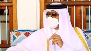 أمير قطر تميم بن حمد في الدوحة