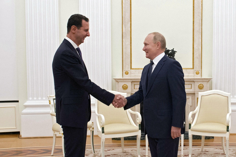 بوتين يلتقي الأسد في موسكو