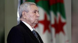الرئيس الجزائري المؤقت عبد القادر بن صالح -