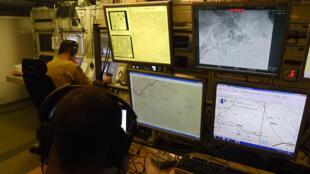 غرفة قيادة وتحكم بالطائرات دون طيار