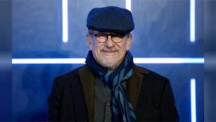 ستيفن سبيلبرج مخرج فيلم (ريدي بلاير وان) في لندن يوم 19 مارس آذار 2018.