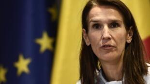 وزيرة الخارجية البلجيكية صوفي ويلمز