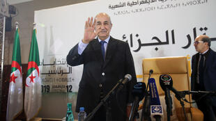 الرئيس الجزائري عبد المجيد تبون-
