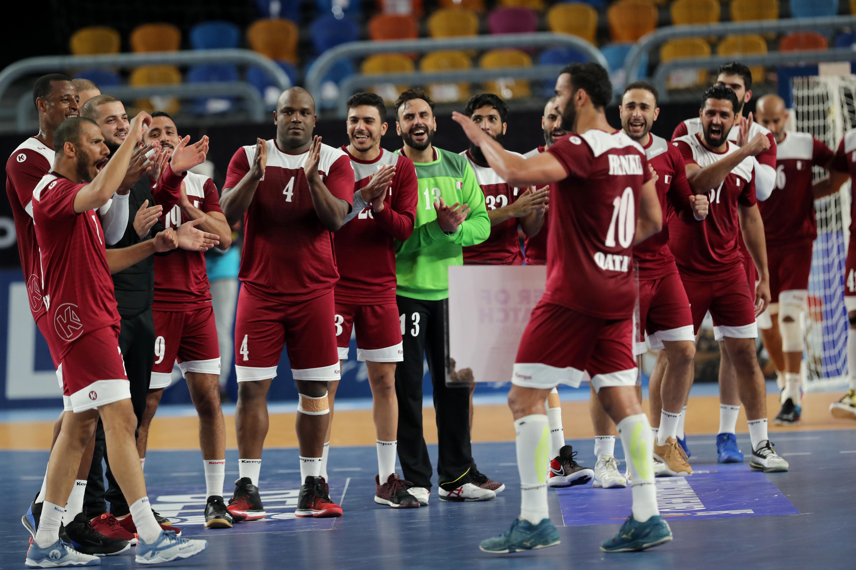qatar handball 25 01 2021