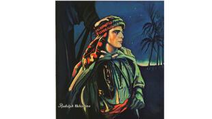 """/  أفيش فيلم """"الشيخ"""" (١٩٢١)"""