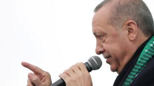 الرئيس التركي رجب طيّب أردوغان
