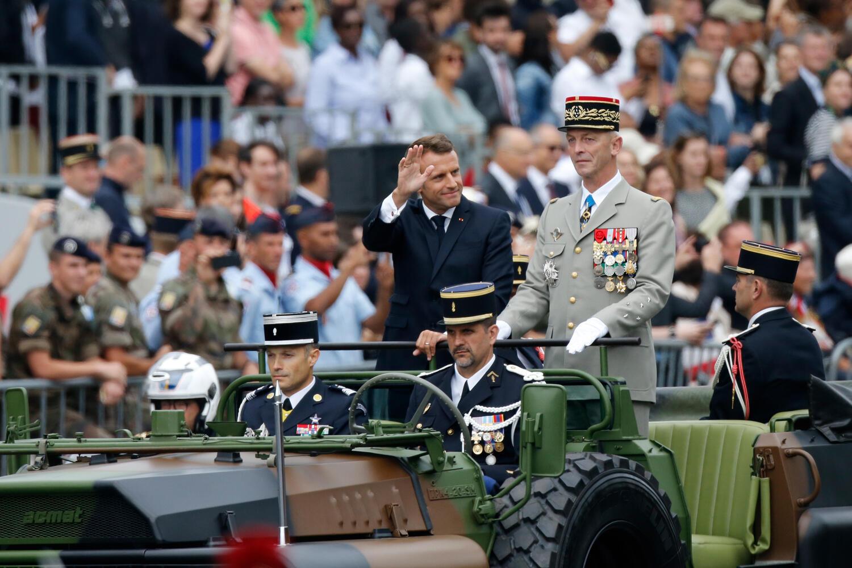 الرئيس الفرنسي ايمانيول ماكرون