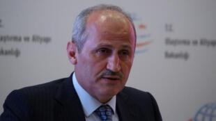 وزير النقل التركي جاهد توران