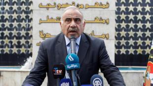 رئيس الوزراء العراقي عادل عبد المهدي-