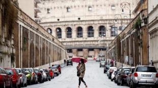 روما، إيطاليا في ظل أزمة كورونا