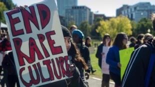 من تظاهرة ضد الاغتصاب في نيويورك
