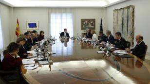 اجتماع الحكومة الإسبانية