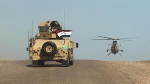 الجيش العراقي في صحراء الأنبار 9 آذار/مارس 2016