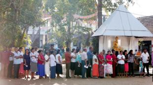 انتخابات في سيريلانكا